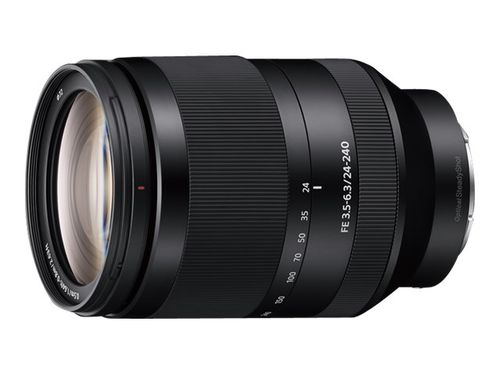 Sony 24 mm - 240 mm - f/3.5-6.3 FE OSS - Sony E-mount.