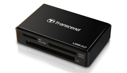 TRANSCEND CARDREADER ALL-IN-ONE 3.0 kortinlukija